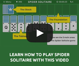 How to Play Spider Solitaire Video