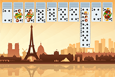 Spider Solitaire Paris